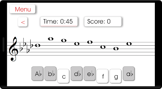 Music Theory: ScaleNet - screenshot