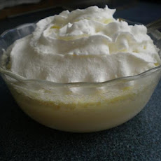 Melt-In-Your-Mouth Warm Lemon Pudding