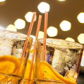 Iced Tea  by Sadat Hossain - Food & Drink Alcohol & Drinks ( indoor, cold tea, food, drink, glass, tea )