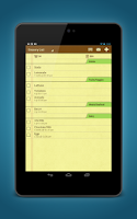 Screenshot of Grocery Shopping List Ease