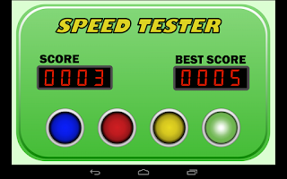 Screenshot of Speed Tester