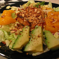 Teriyaki Mandarin Chicken Salad