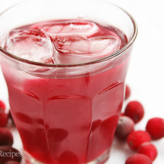 Low Carb Cranberry Cooler