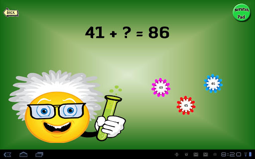 (APK) تحميل لالروبوت / PC Math flash cards تطبيقات screenshot