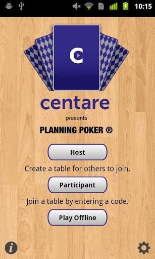 Centare Planning Poker