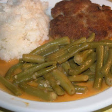 "North Croatian French Beans Stew (""cuspajz Od Mahuna"")"