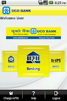 Screenshot of UCO Bank