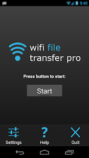 Screenshots  WiFi File Transfer Pro