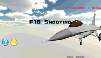Screenshot of F16 Shooting
