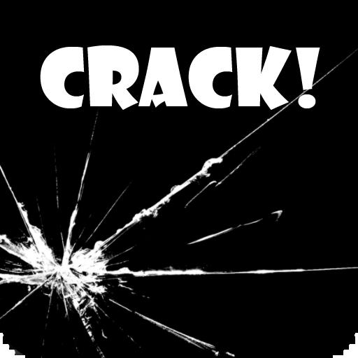 Screen Crack with sound! LOGO-APP點子