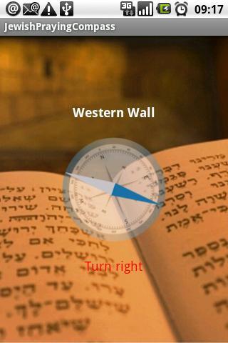 Jewish Praying Direction