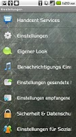 Screenshot of Handcent SMS Germany Language