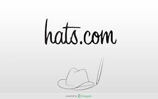 Screenshot of hats.com