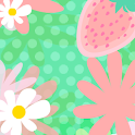 Strawberry and Flower icon