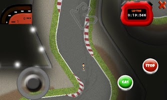 Screenshot of Moto Mobile 2012 GP GAME
