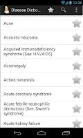 Screenshot of Diseases Dictionary