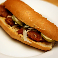 Andouille Po' Boy 'Creolaise'