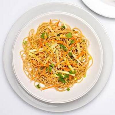 Cold Sesame Noodles with Vegetables