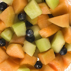 Melon Salad with Sweet Wine and Lemon