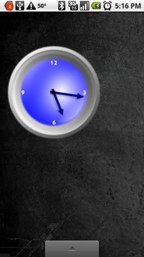 New Blue Analog Clock