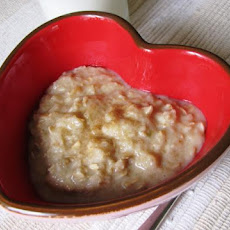Caramel Apple Porridge (Oatmeal)