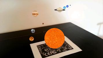 Screenshot of OrbitAR - Augmented Reality