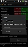 Screenshot of Battery Stats Plus Pro