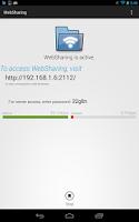 Screenshot of WebSharingLite (File Manager)