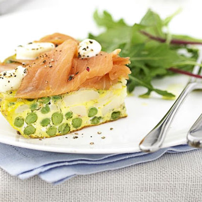 Smoked Salmon & Mascarpone Tortilla