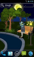 Screenshot of Zombie In Night Park Free