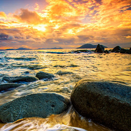 The Rock by Zakie Abdullah - Landscapes Beaches