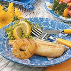 Pineapple-Glazed Fish