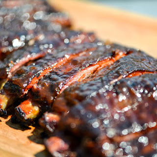 Smoky and Spicy Apricot-Glazed Barbecue Ribs
