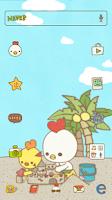 Screenshot of 오대리 바다여행 여름 도돌런처 테마