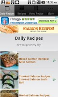 Screenshot of Salmon Recipes!