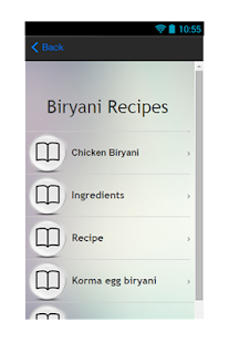Biryani Recipes Guide - screenshot