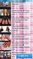 Screenshot of Manicure Tutorials