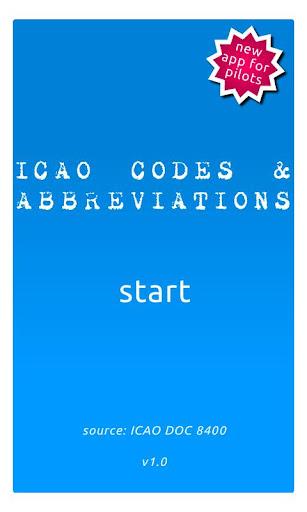 ICAO Codes and Abbreviations