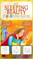 Screenshot of Sleeping Beauty Coloring Book