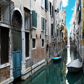 Narrow canal in Venice by Almas Bavcic - Buildings & Architecture Other Exteriors