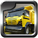 Heavy dump truck 3D parking