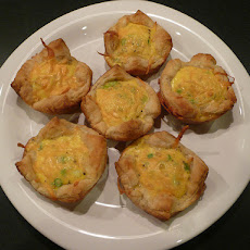 Crustless Breakfast Quiche Muffins