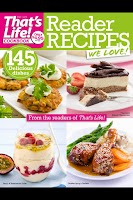Screenshot of that's life! Reader Recipes