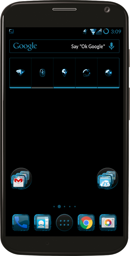 Holo Theme CM12 CM 13 Screenshot 1