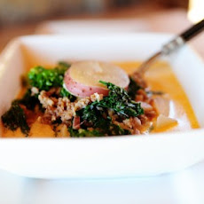 Sausage, Potato, and Kale Soup