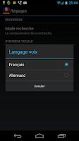 Screenshot of Offline French German Dict.