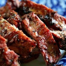 Grilled Spicy Citrus Ribs