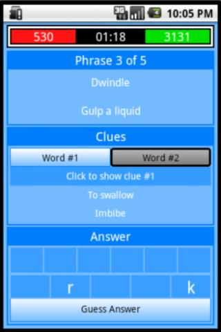 Stinky Pinky - Word Game