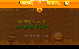 Screenshot of Honey Bee Adventure