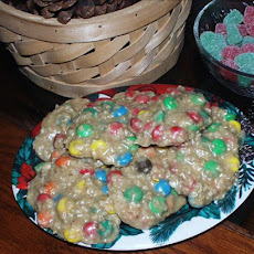 No-Bake M & M Cookies